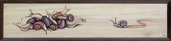 Snail Pile by Fay Helfer