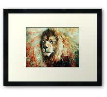 The King of His World Framed Print