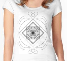 Spiderweb Women's Fitted Scoop T-Shirt
