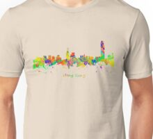 Skyline of Hong Kong Unisex T-Shirt