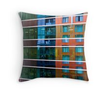 Reflections on reflections  Throw Pillow
