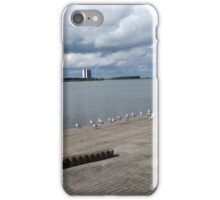 Low Hanging Clouds iPhone Case/Skin