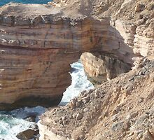 Kalbarri Cliffs by DEB CAMERON