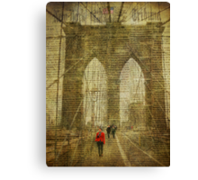 A Slow News Day Canvas Print