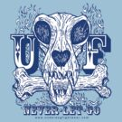 UNDERDOG skull & bone, blue by Underdogg