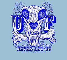 UNDERDOG skull & bone, blue Unisex T-Shirt