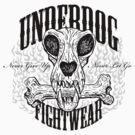 UNDERDOG skull &amp; bone, light tee by Underdogg