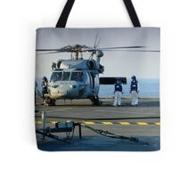 Hands to flying Stations! Tote Bag
