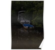 hiding refections Poster