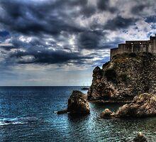 HDR Dubrovnik Fortress Lovrijenac by Rubica