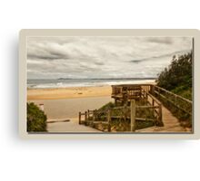 saltwater lookout Canvas Print