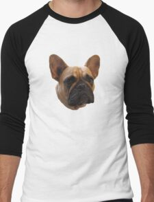 Bulldog t-shirt/sticker/case/mug/cushion/duvet cover/leggings Men's Baseball ¾ T-Shirt