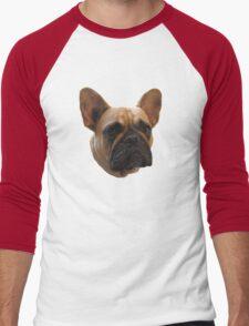 Bulldog t-shirt/sticker/case/mug/cushion/duvet cover/leggings Men's Baseball ¾ T-Shirt