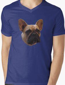 Bulldog t-shirt/sticker/prints/case/mug/cushion/duvet cover/leggings Mens V-Neck T-Shirt