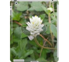 white Grass Flower iPad Case/Skin