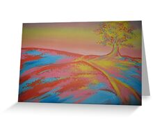 Meditation tree Greeting Card