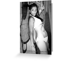 Two tone, two piece Greeting Card