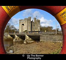 bunratty castle county clare ireland. scenic rural anicent irish countryside landscape photography by upthebanner