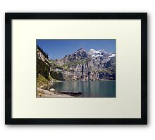 Suisse Postcards - 8 Framed Print