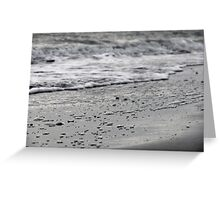 Tranquility - Monochrome Greeting Card