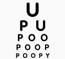 U POO Eye Test Chart Unisex T-Shirt