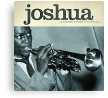 Word Leftovers: Joshua (Blue Note) Canvas Print