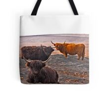 Highlanders on the Hills Tote Bag