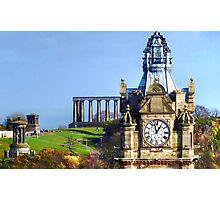 Balmoral Clock Photographic Print