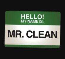 NAMETAG TEES - MR. CLEAN by webart