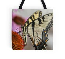 Sipping Swallowtail Tote Bag