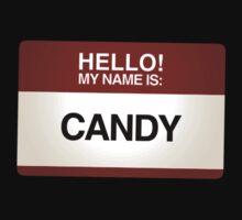 NAMETAG TEES - CANDY by webart