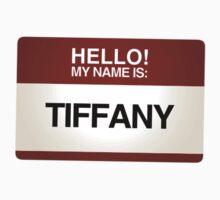 NAMETAG TEES - TIFFANY by webart