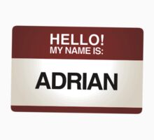 NAMETAG TEES - ADRIAN by webart