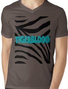 Tigerblood Mens V-Neck T-Shirt