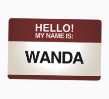 NAMETAG TEES - WANDA by webart
