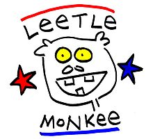Leetle Monkey  by Ollie Brock