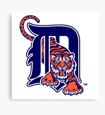 detroit tigers logo Canvas Print