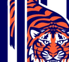 detroit tigers logo Sticker