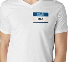 NAMETAG TEES - MAX Mens V-Neck T-Shirt