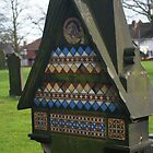 Tiled Headstone by Yampimon