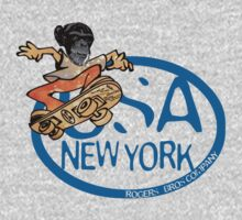 usa new york tshirt by rogers bros co by usatshirts