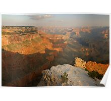 Yavapai Point Morning Poster