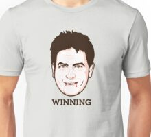 Charlie Sheen - Faces Of Awesome Unisex T-Shirt