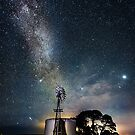 Childers Cover Windmill Milky Way by hangingpixels