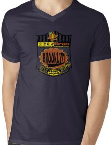 usa brooklyn hoodie by rogers bros Mens V-Neck T-Shirt