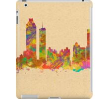 Skyline of Atlanta Georgia USA iPad Case/Skin