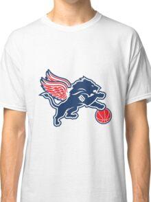 detroit tigers lions logo Classic T-Shirt