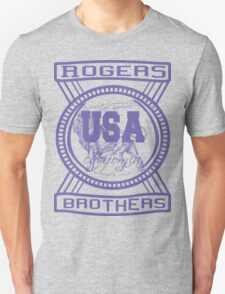 usa california hoodie by rogers bros co Unisex T-Shirt