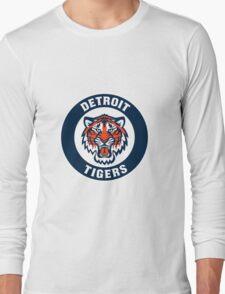 detroit tigers logo 5 Long Sleeve T-Shirt
