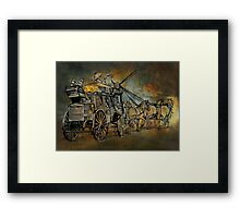 Back to the Past.......... Framed Print